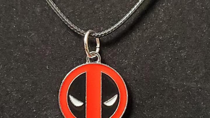 Deadpool Logo Charm Neckless