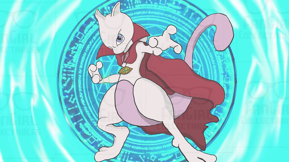 Pokemon - Dr. Mew2 Art Print