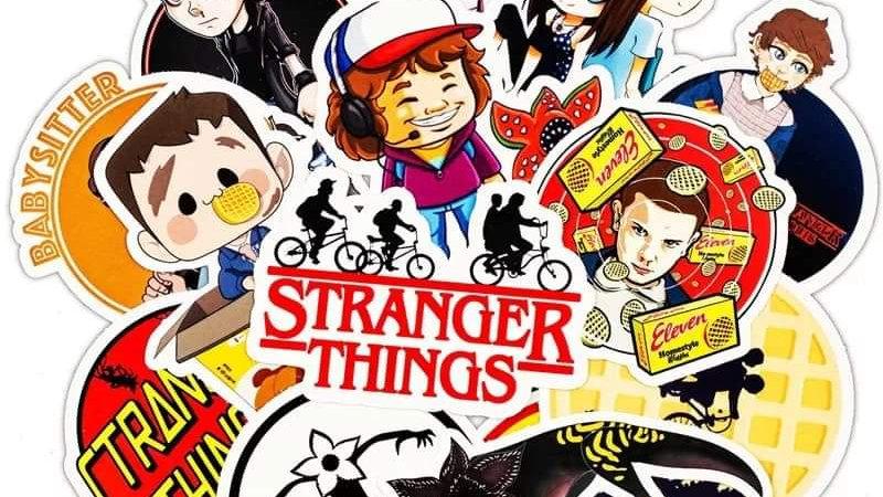 Stranger things mystery sticker packs