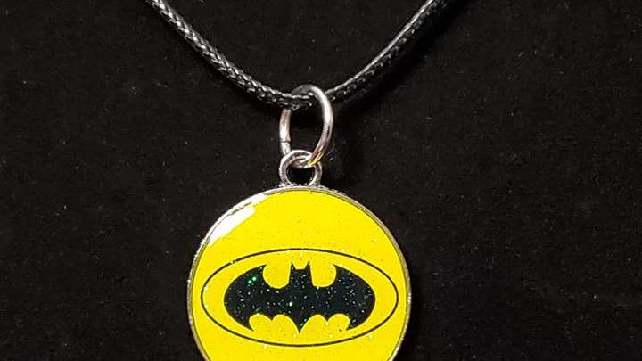 Batman Logo Metal Charm Neckless