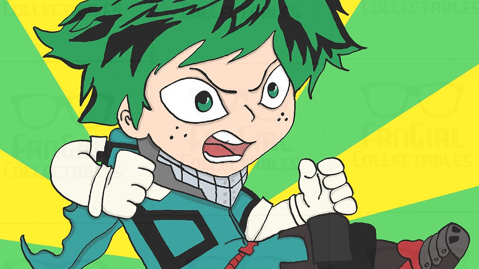My Hero - Deku Art Print