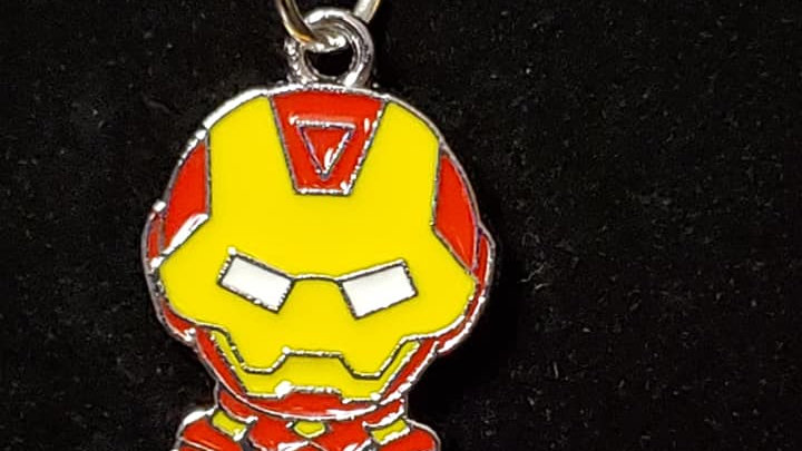 Ironman Metal Charm Neckless