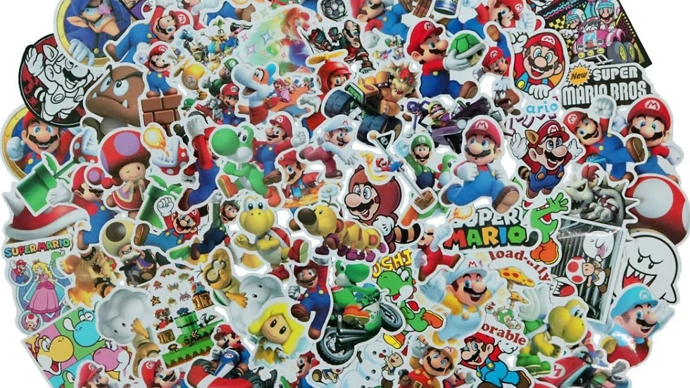 Nintendo Mario Brothers mystery sticker pack