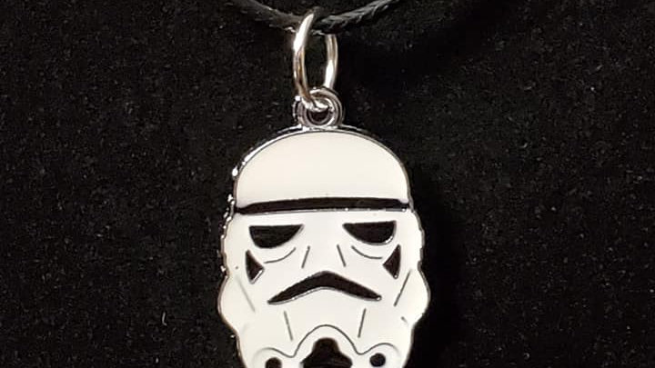 Stormtrooper Head Necklace