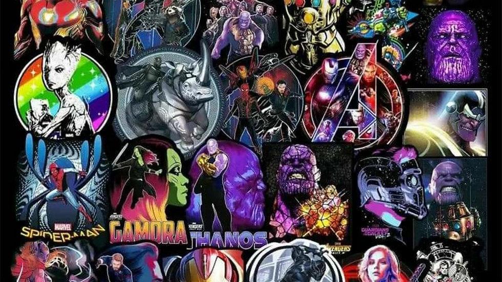 Avengers mystery sticker packs