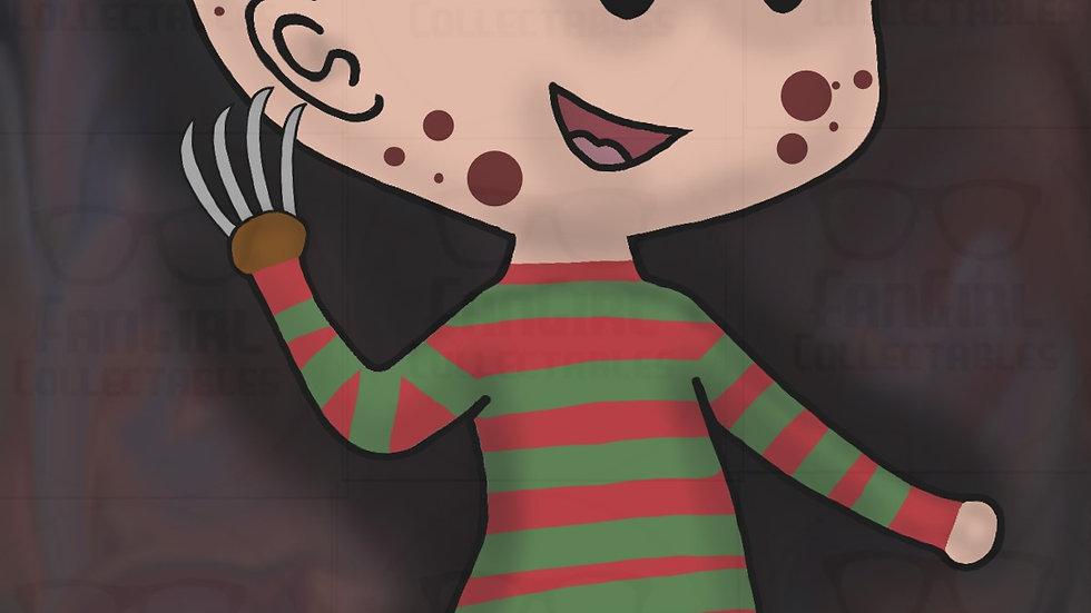 Horror Freddy 01 Art Print