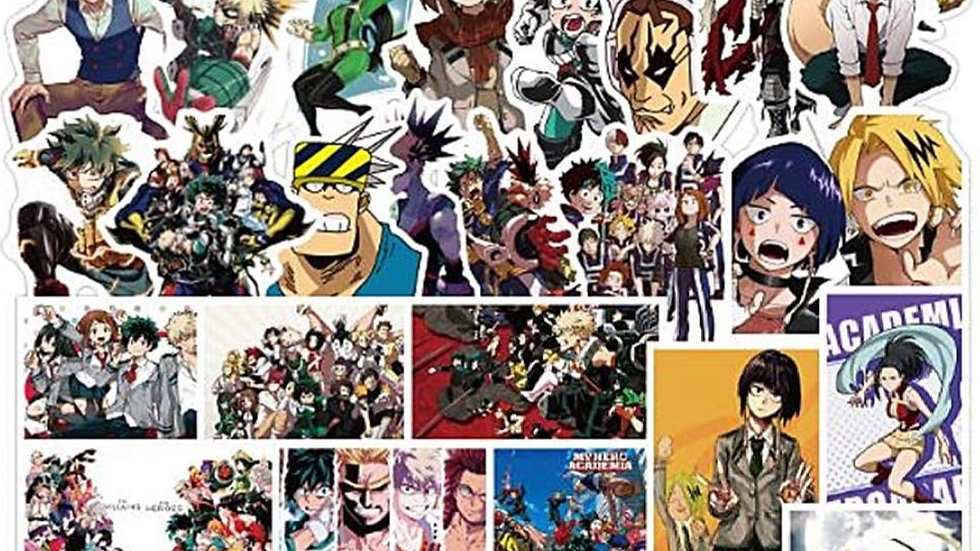 My hero academia mystery sticker packs