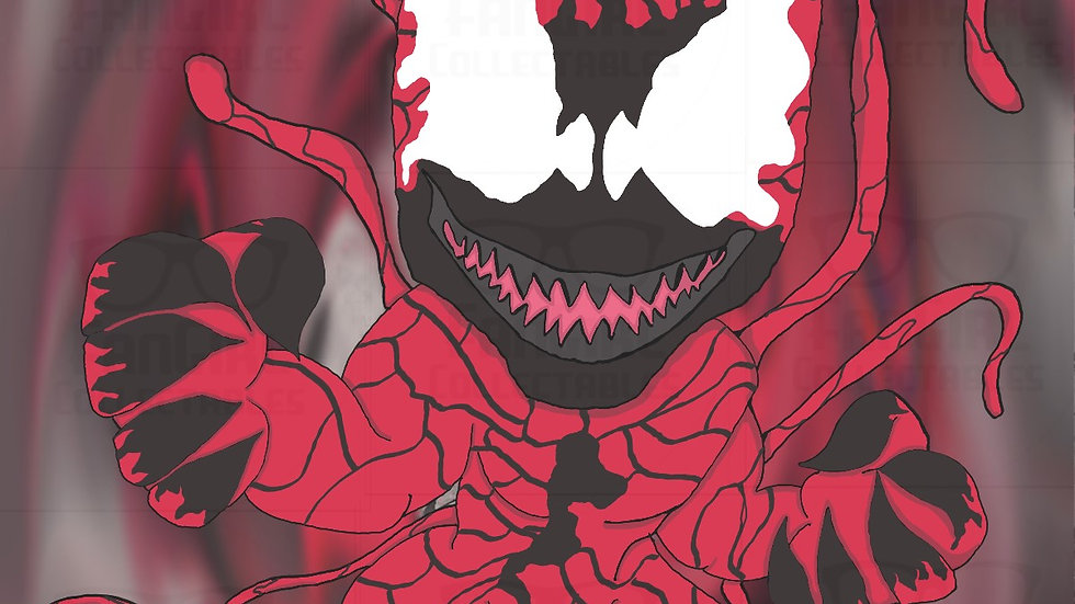 Marvel - Carnage Art Print