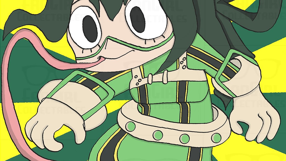 My Hero - Froppy Art Print