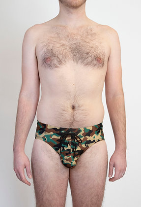 Dick Camo Swim Brief