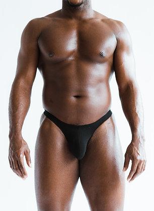 Basic Black Thong