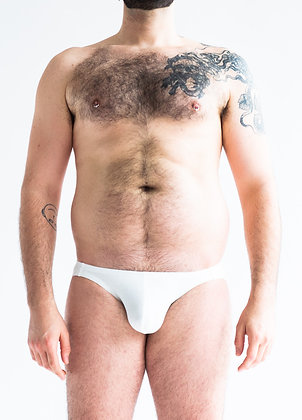 Basic Low-Rise White Brief