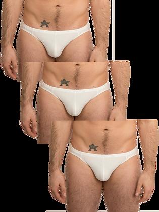 Basic White Brief 3-Pack