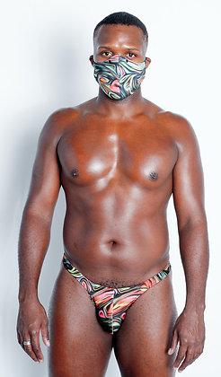 Oil Spill Mask & Thong Combo Pack