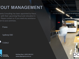 Paxus engage NB Property Consulting for Fitout Management
