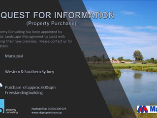 Property Purchase Request - Marsupial Landscape Management