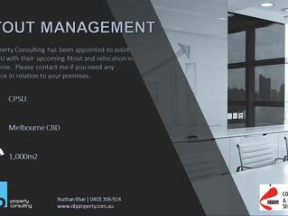 Fitout Management - Community & Public Sector Union