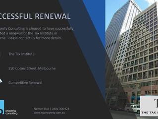 Successful Renewal - The Tax Institute