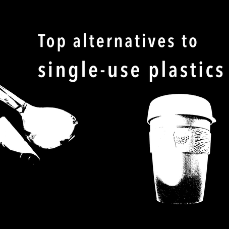 Top alternatives to single-use plastics