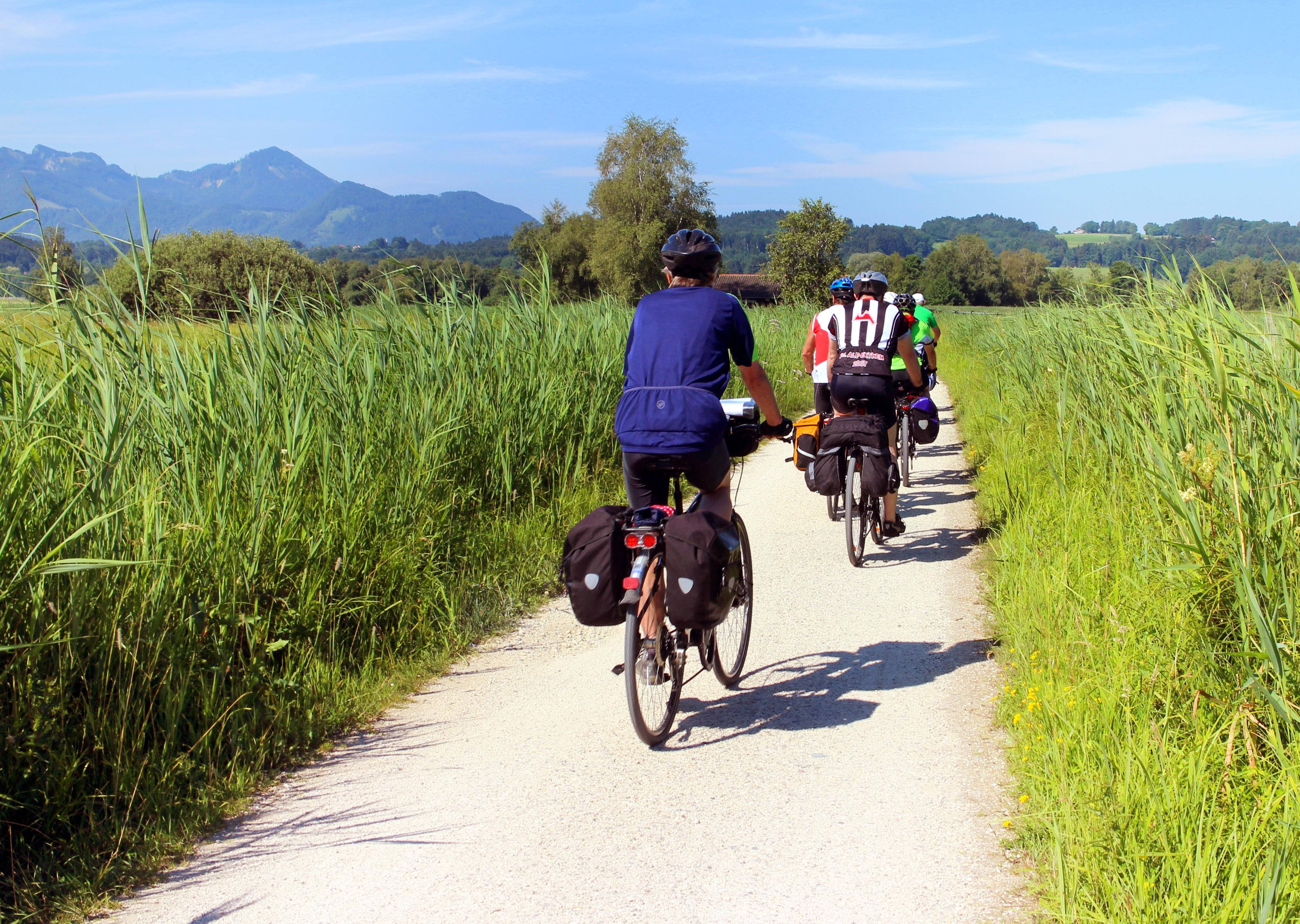 Radeln in Oberbayern
