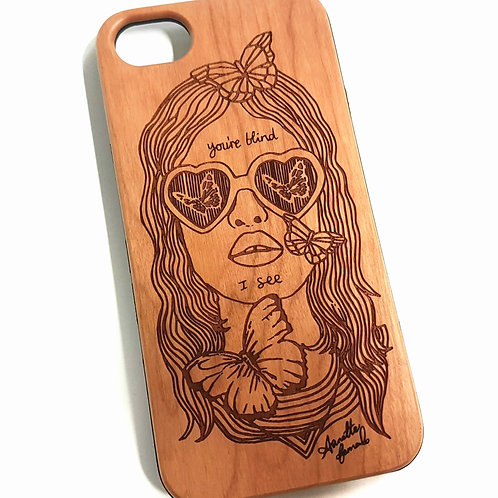 Lolita Phone Case, Cherry Wood. Suitable for Apple IPhone 6, 6s, 7 & 8 Model