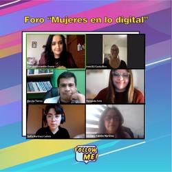 """Foro """"Mujeres en lo digital"""""""