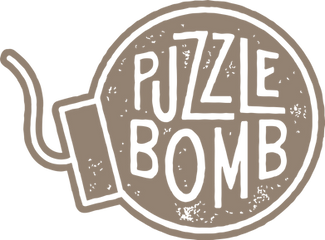 Puzzle Bomb - Official Logo (tan).png