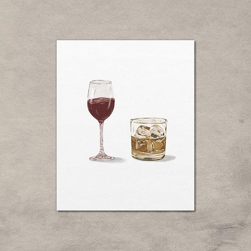 Whiskey + Wine