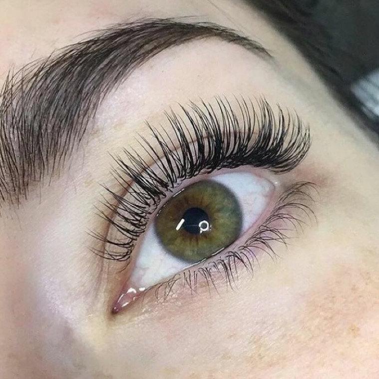 Classic & hybrid Eyelash Extension