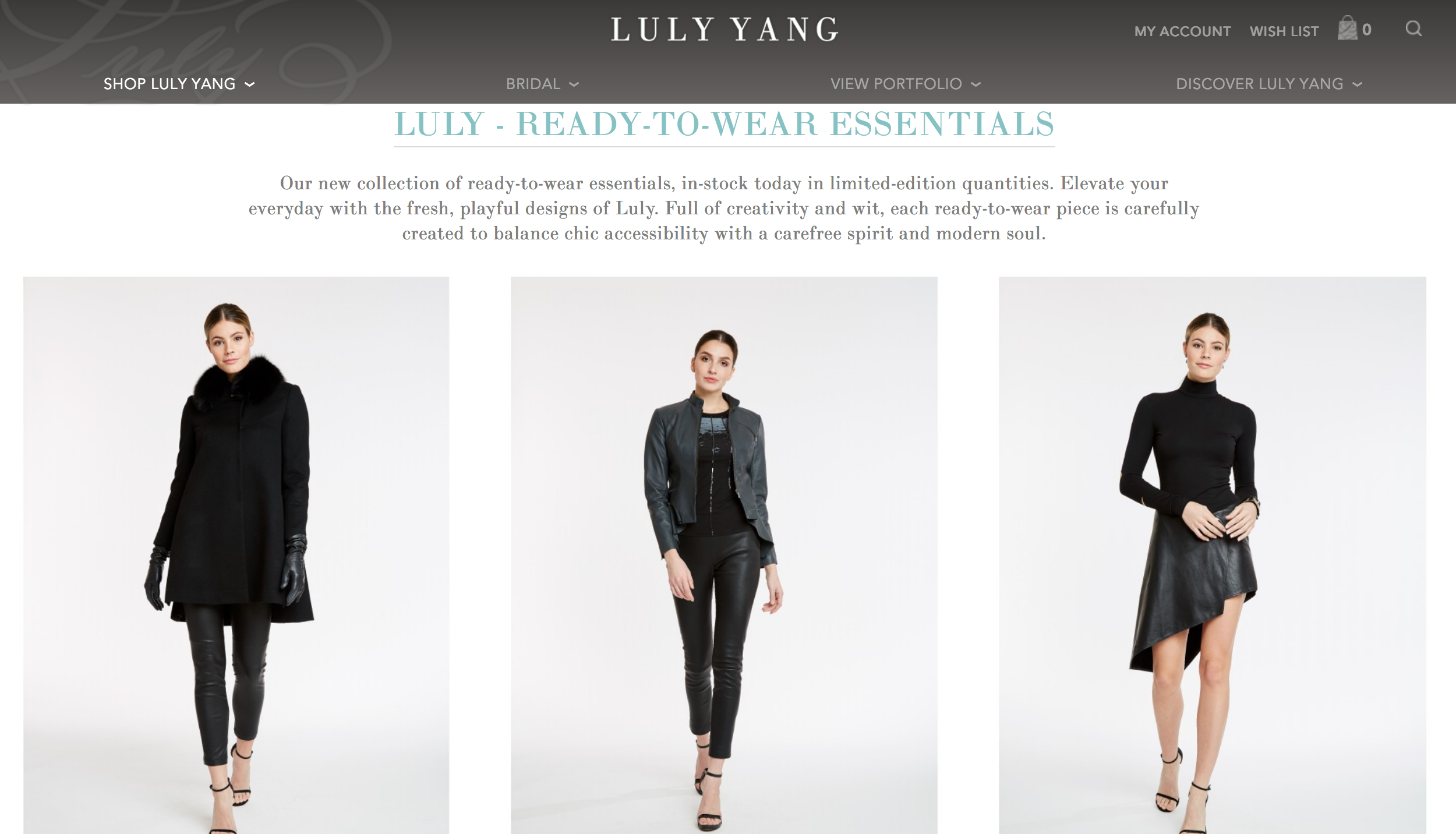 Luly - Ready-to-Wear Essentials