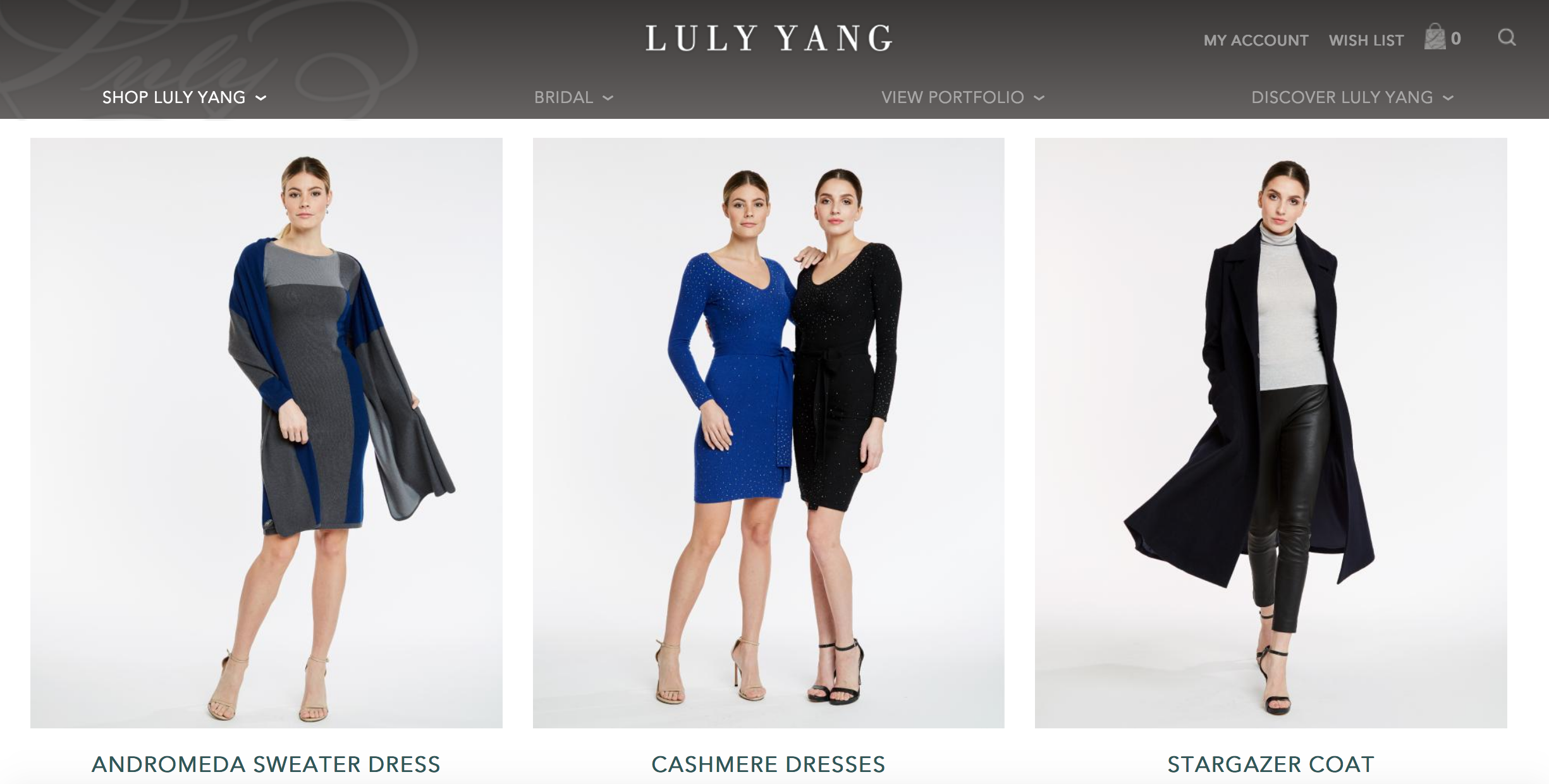 Luly Yang- Luxury For Every Season