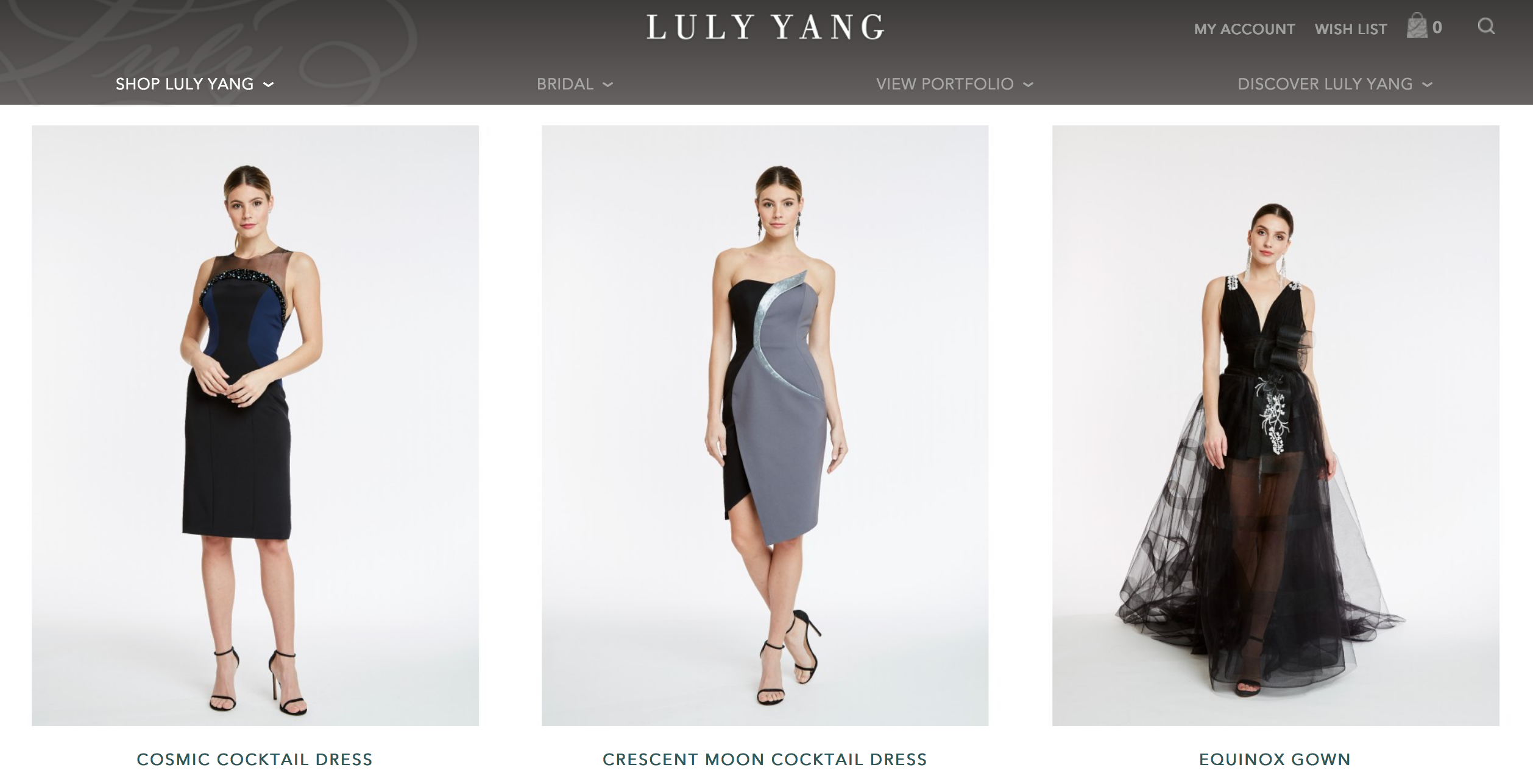 Luly Yang - Pre-Order Signature Col.