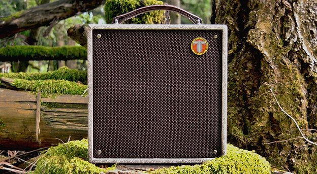NOMAD 50-Watt Battery Amp CERAMIC Speaker