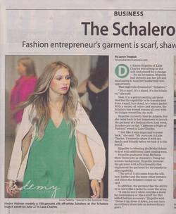 The Schalero in the Lake Charles American Press.jpg