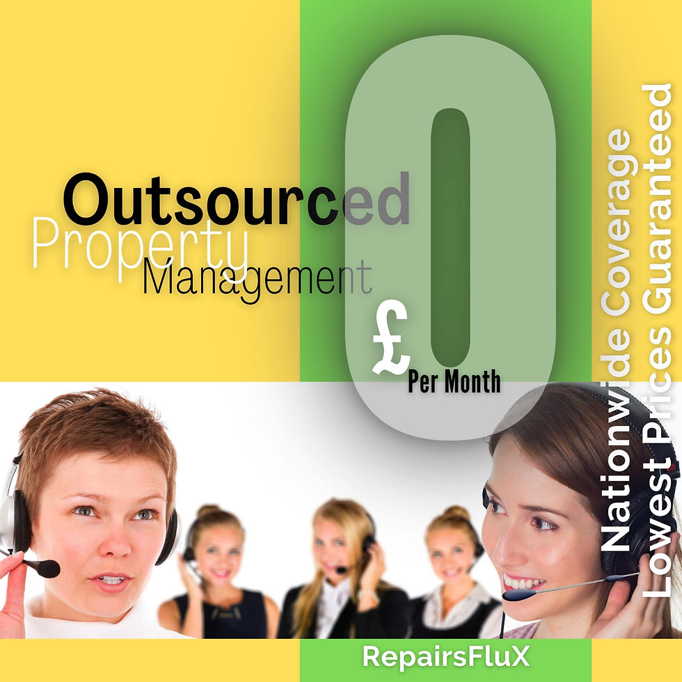 RepairsFluX  Outsourced Property Managem