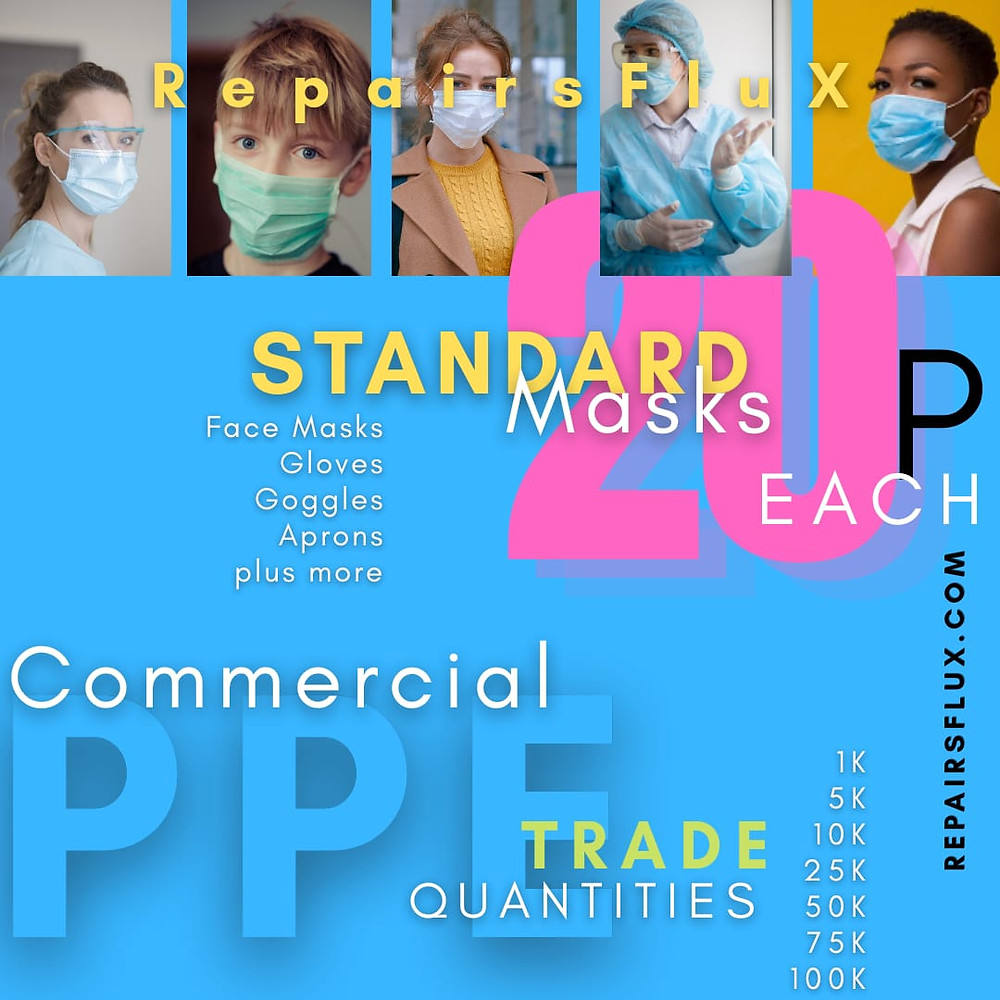 RepairsFluX Cheapest Face Marks & PPE