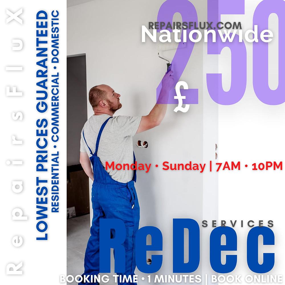 RepairsFluX Redecoration Services