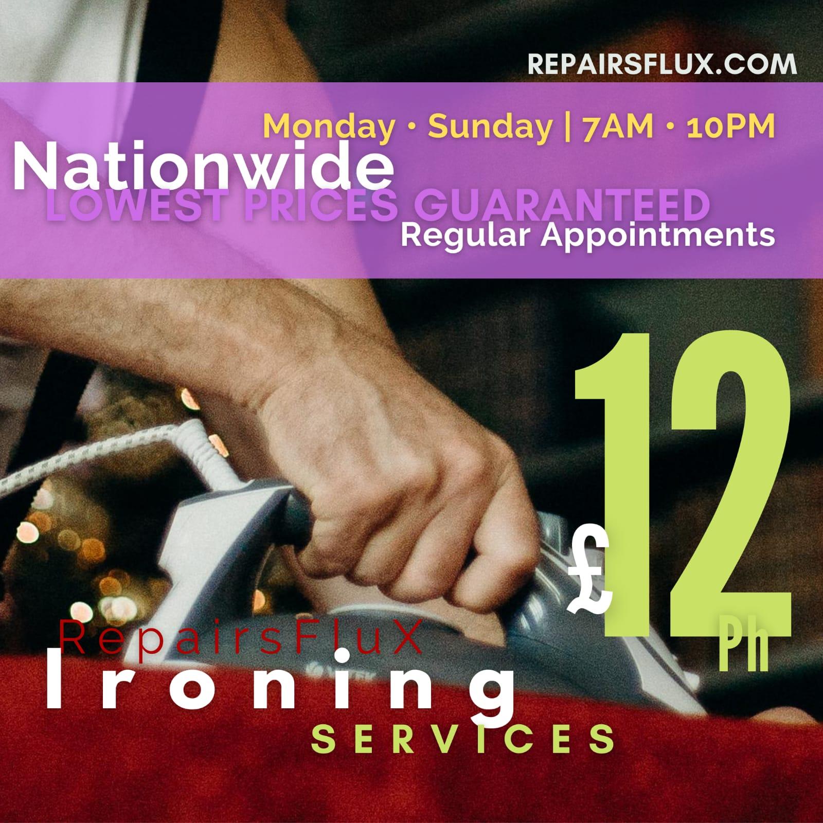 RepairsFluX Ironing