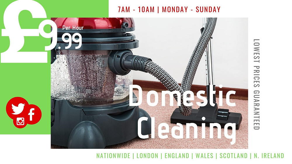 RepairsFluX | Domestic Cleaning Services