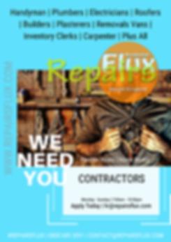 ReparsFluX Jobs for Contractor