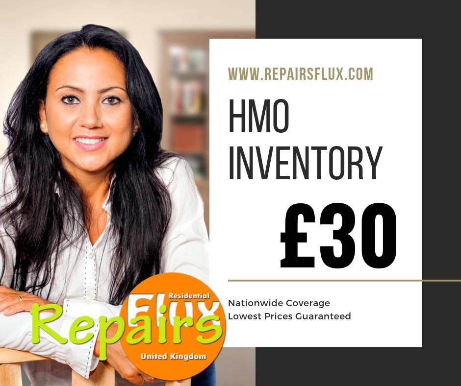 RepairsFluX HMO Inventory