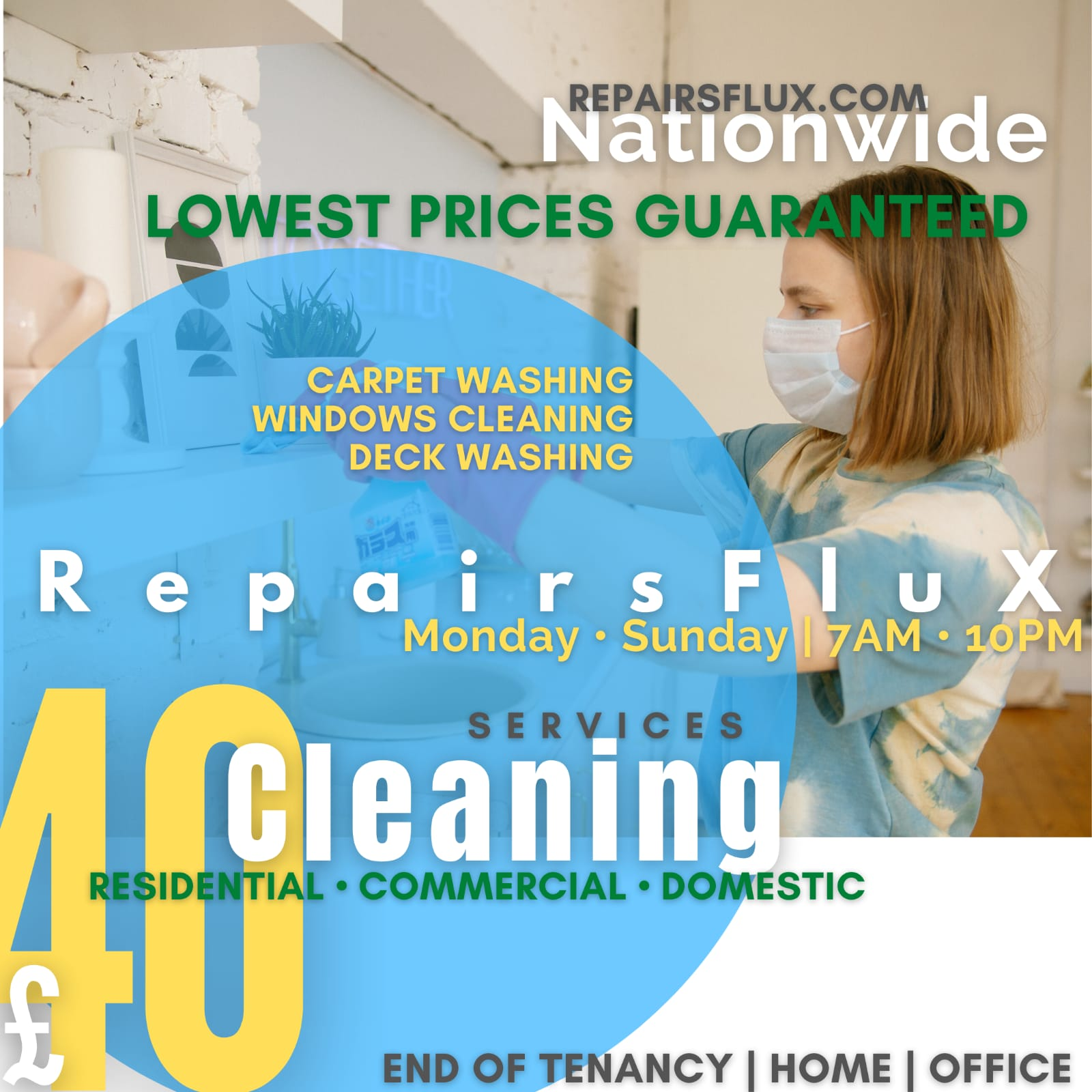 RepairsFluX Cleaning Services