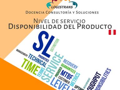 Nivel de servicio – Disponibilidad del Producto