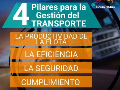 LOS 4 PILARES PARA LA GESTIÓN DEL TRANSPORTE DE CARGA TERRESTRE
