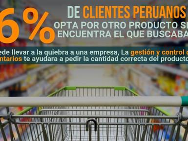 ¡EL 46% DE CLIENTES PERUANOS OPTA POR OTRO PRODUCTO SINO ENCUENTRA EL QUE BUSCABAN!🛍️