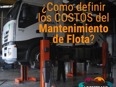 COSTOS DEL MANTENIMIENTO DE FLOTA
