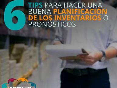 06 TIPS PARA HACER UNA BUENA PLANIFICACIÓN DE LOS INVENTARIOS O PRONÓSTICOS