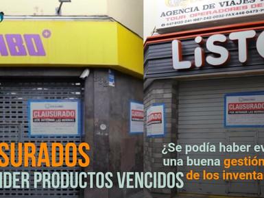 😱 ¡Locales de Tambo+ y Listo! - Miraflores son clausurados por vender productos vencidos!