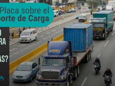 ¿PICO Y PLACA SOBRE EL TRANSPORTE DE CARGA, COMO AFECTARA A LAS EMPRESAS DE TRANSPORTE Y EN EL PRECI