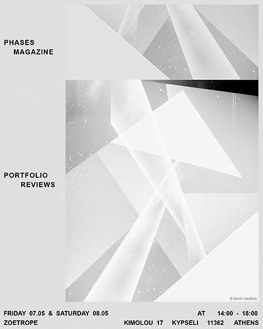 poster for Phases Magazine portfolio rev